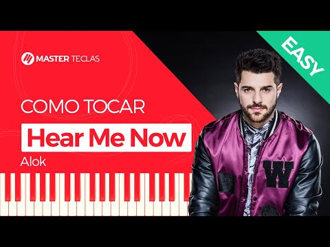 💎 Alok - Hear Me Now - EASY - Piano tutorial - Master Teclas 💎