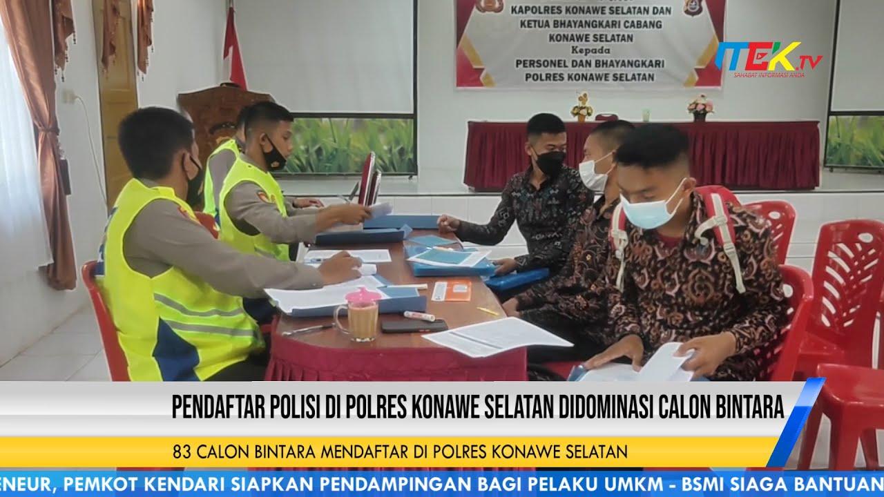 Pendaftar Polisi di Polres Konawe Selatan Didominasi Calon Bintara