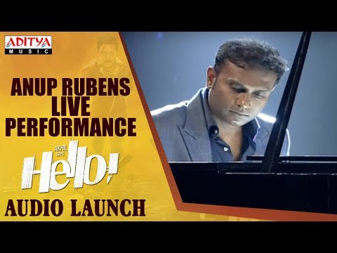 Anup Rubens Live Performance @ HELLO! Movie Audio Launch | Akhil Akkineni, Kalyani Priyadarshan