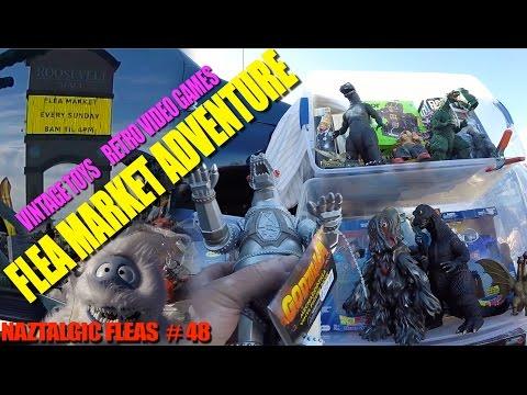 Flea Market Adventure #48 (Part 1 of 2) NES & Genesis Games, Power Rangers Toys