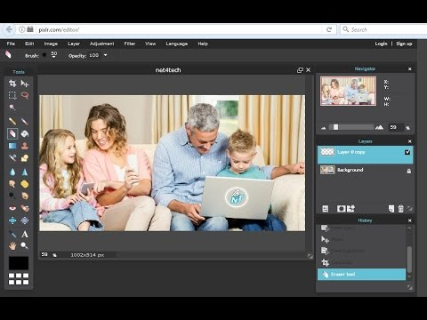 Online photo editor like photoshop free  YouTube
