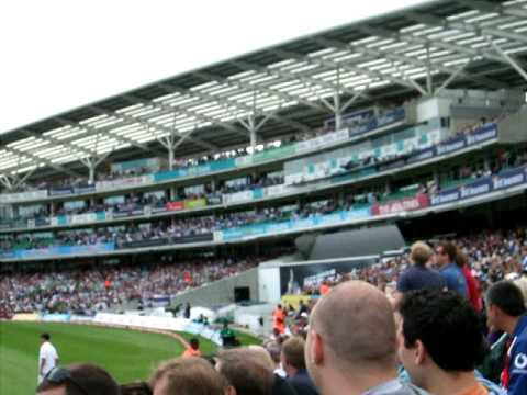 Ole Ole Ole Ole, Feeling Trott Trott Trott! Jonathan Trott Being Sung At!