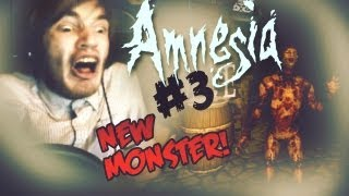 FREAKY NEW MONSTER! ;_; - Amnesia: Custom Story - Part 3 - Tenebris Lake
