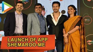 Watch Tiger Shroff Launches of OTT App Shemaroome