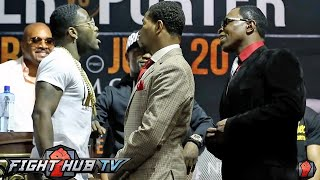 Adrien Broner almost fights Shawn