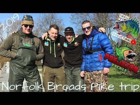 Norfolk Broads Pike Fishing Trip