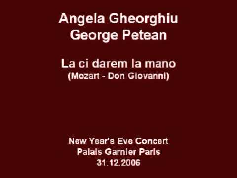 Angela Gheorghiu/George Petean - Don Giovanni: La ci darem la mano - Paris 2006 - YouTube