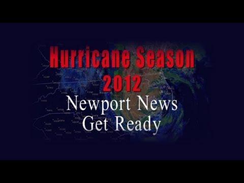 Hurricane Season 2012: Newport News Get Ready!