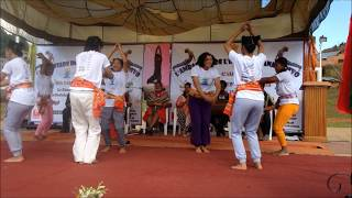 Yoga Movements with Benja Gasy depicting Malagasy Traditional Life