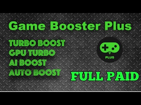 Game Booster Plus 4x Faster  Full Paid For Android