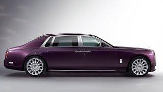 Новый Rolls Royce Phantom 2018.  Осмотр.  Обзор.  ТЕСТ-Драйв