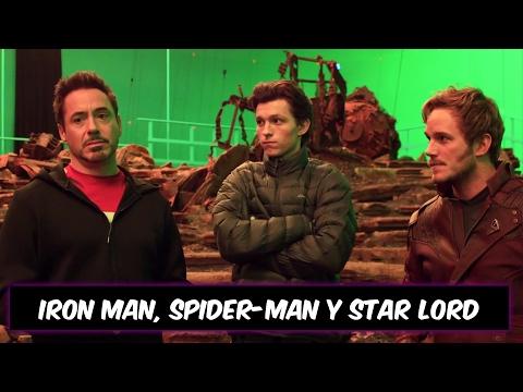 INFINITY WAR TEASER OFICIAL | SPIDER-MAN, IRON MAN Y STAR LORD | EL CUBO #010