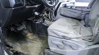 Dirty Work Truck interior detail! Part 1 of 2