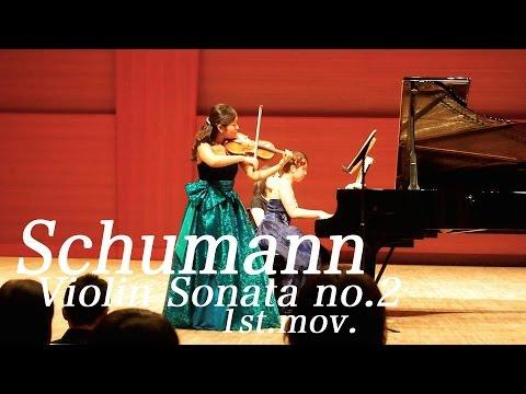 Kyoko Watanabe - Schumann / Violin Sonata no.2 in d minor op.121 1st