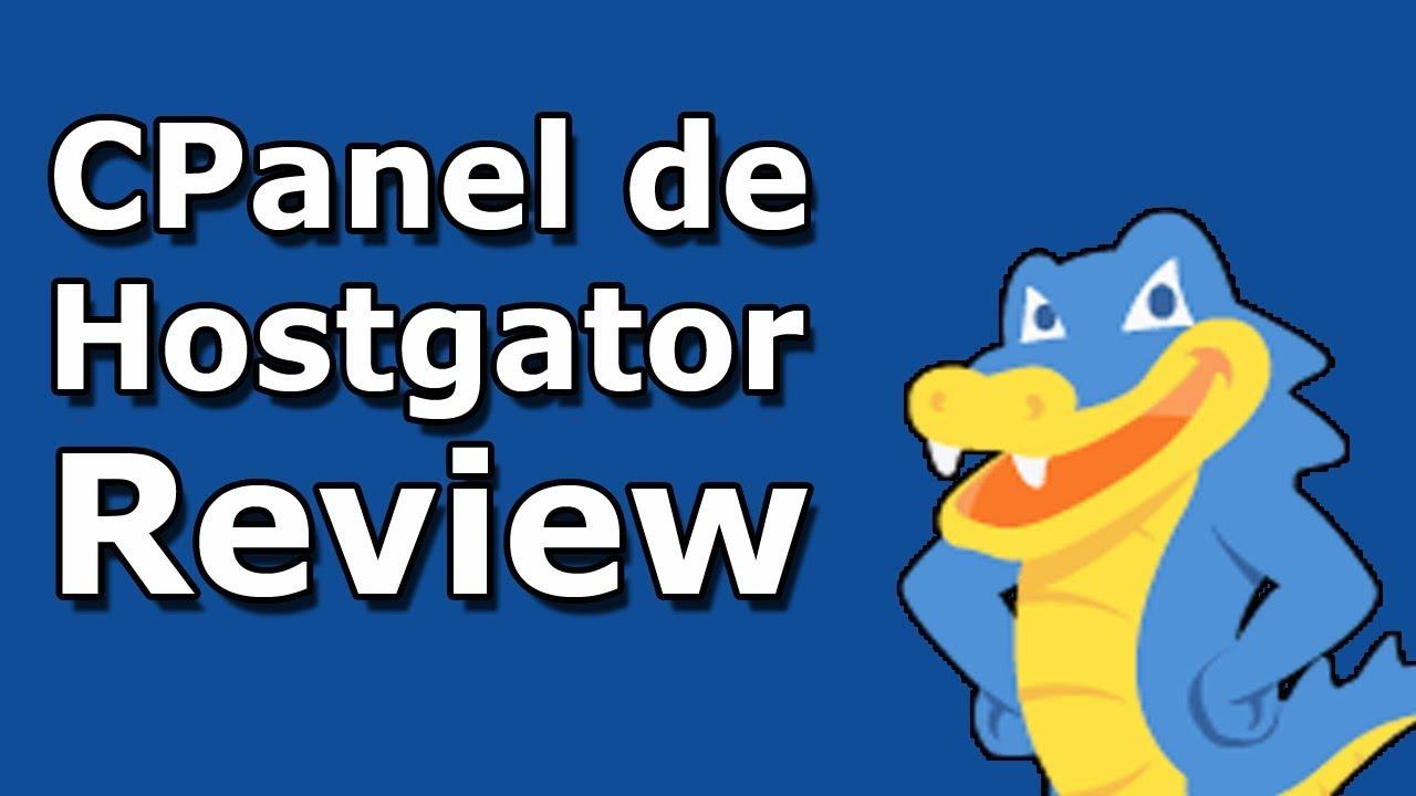 CPANEL DE HOSTGATOR REVIEW