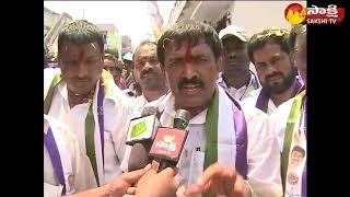 Gambar cover Kakinada city YSRCP MLA candidate Dwarampudi Chandra shekar Reddy Election campaign