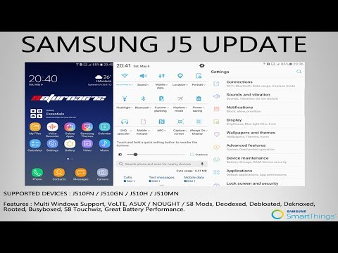 A5 2017 ROM (A5UX) for Galaxy J5 2016 J510FN, J510GN, J510H