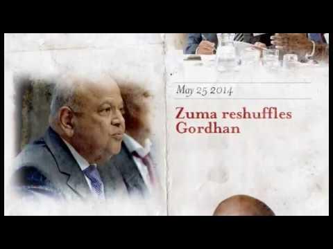 S.A cabinet reshuffle, Gordhan firing: Highlights