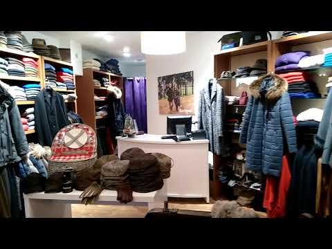 Vidéo Boutique St Germain Granville Noël 2017