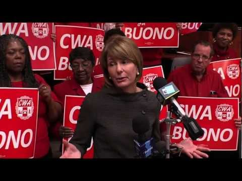 Communications Workers of America Endorse Buono for Governor