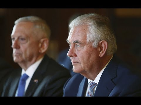 Tillerson and Mattis testify to Senate on use of military force – watch live