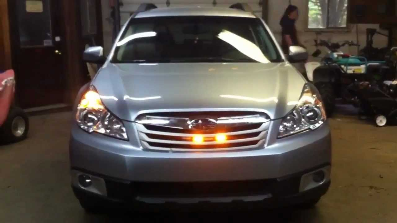 Global Led Solution Subaru Outback Amber Light System