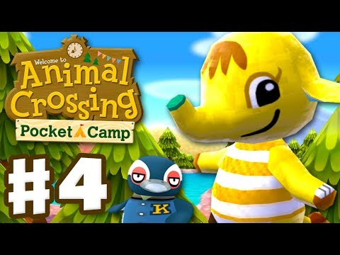 Animal Crossing: Pocket Camp - Gameplay Part 4 - Tex and Eloise Visits Camp! (iOS, Android)