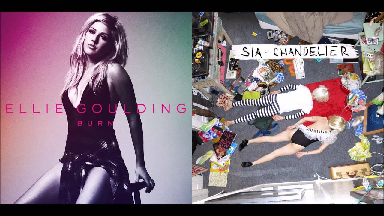 Burning Chandelier (Sia VS Ellie Goulding) - YouTube