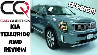 Kia Telluride AWD Review | It's big and it offers a LOT!
