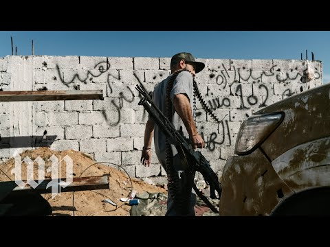 On the front lines of the urban guerrilla war raging in Libya's capital