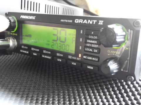 Japanese CB DX on non EU CH30 27 300 MHz