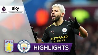 Agüero-Hattrick: Man City zerlegt Villa | Aston Villa - Man City 1:6 | Highlights - Premier League