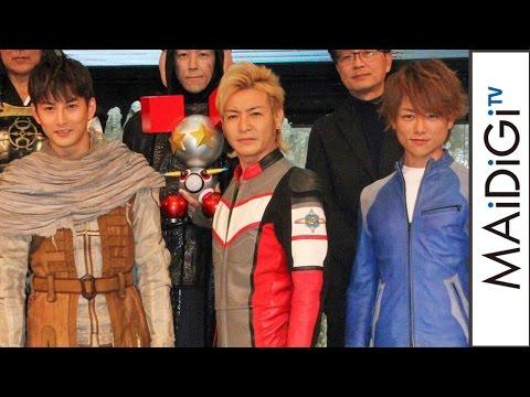 "Hideo Ishiguro: Co-acting with ""Senior Ultraman"" Takeshi Tsuruno & Taiyo Sugiura is ""like a dream"""