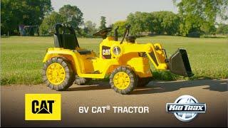 Дитина Тракс 6-вольтовий Кет бульдозер іграшка автомобіль