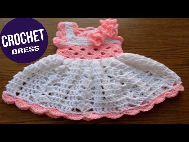 Encantador Modelo Del Ganchillo Del Vestido Del Bebé Fotos - Ideas ...