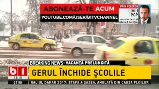 SCOLILE INCHISE PANA MIERCURI- VACANTA PRELUNGITA