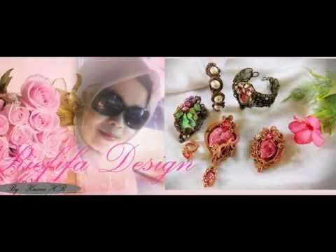 RIEFIFA DESIGN Wire Jewelry Handmade by : Husna HR ( Idocrase Aceh Edition ) 2nd