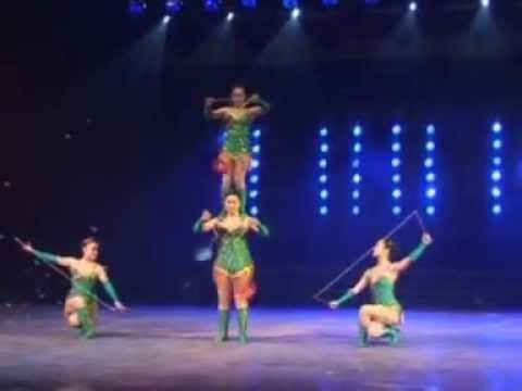 Circus Circus Agency presents :Diabolo High Class Chinese Circus Act (liu)