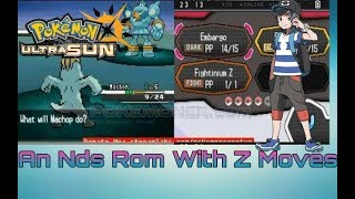 Best And First Nds Rom With Z-Moves!Download Pokemon Black Random For Android