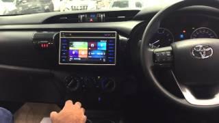 2016 Toyota Hilux OEM Multimedia System