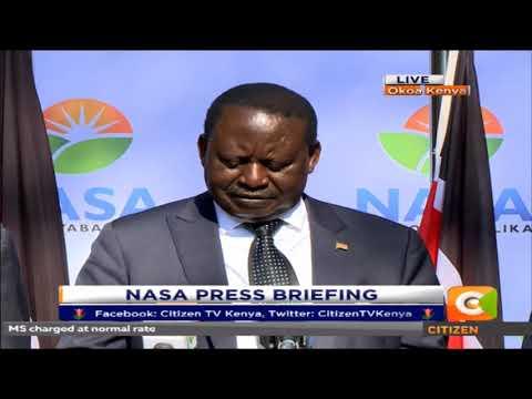 Raila: Uhuru thinks the presidency is his birth right