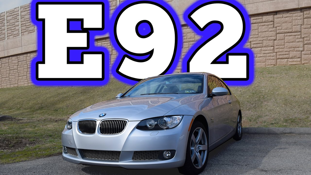 2009 bmw e92 335i x drive coupe regular car reviews youtube. Black Bedroom Furniture Sets. Home Design Ideas