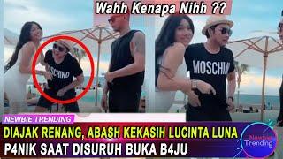 Download Diajak Siti Badriah Renang, Abas Kekasih Lucinta Luna P4nik Saat Disuruh Buka B4ju
