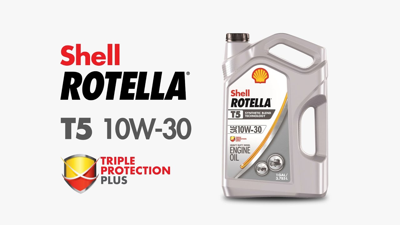 Synthetic Diesel Engine Oil | Shell Rotella® T5 Synthetic