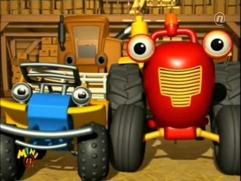 Traktor Tom -  Rorino čudoviste (crtani Na Hrvatskom)