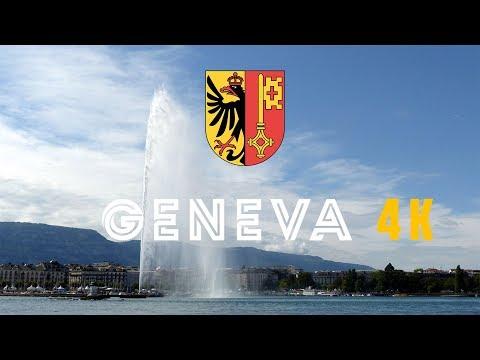 Switzerland Geneva in 4K