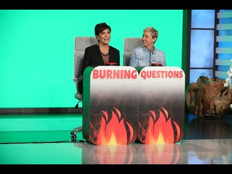 Kris Jenner Answers 'Ellens Burning Questions'