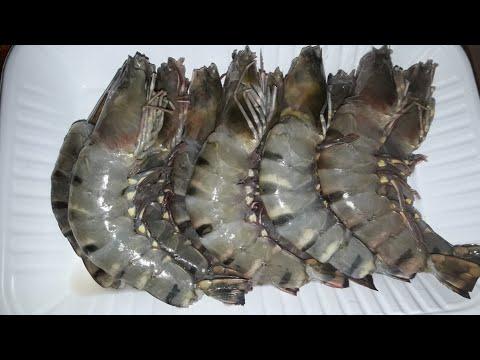 চিংড়ি মাছ কাটার সহজ এবং সঠিক পদ্ধতি।How to clean prawns.