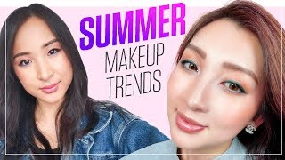 Glowy Spring & Summer Makeup Trends of 2018 ☀️ You Need to Know
