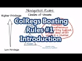 ColRegs Boating Rules #1 - Introduction | Sail Fanatics